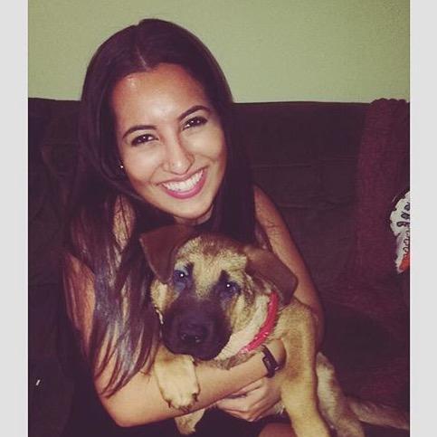 dog walker Leila