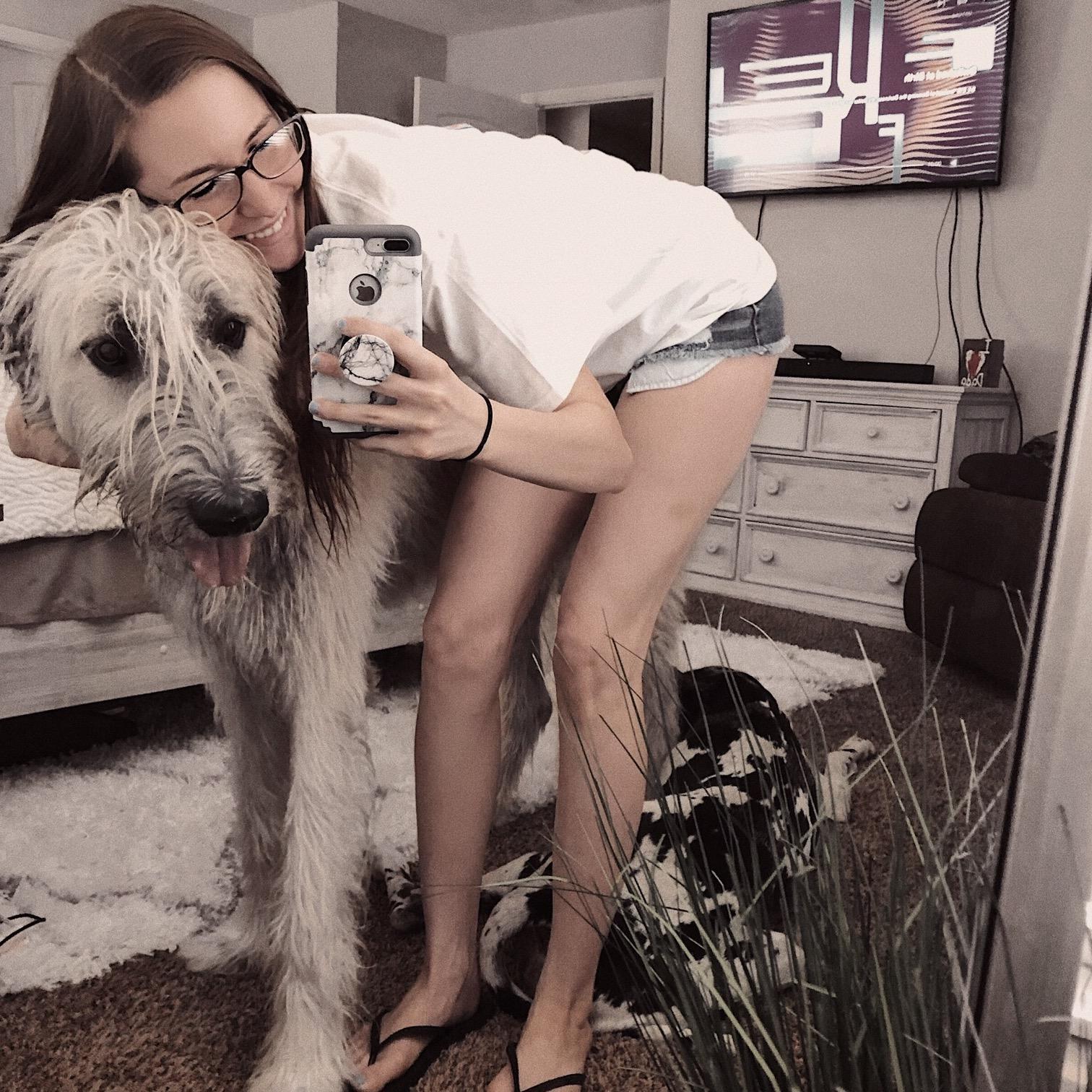 pet sitter Ally