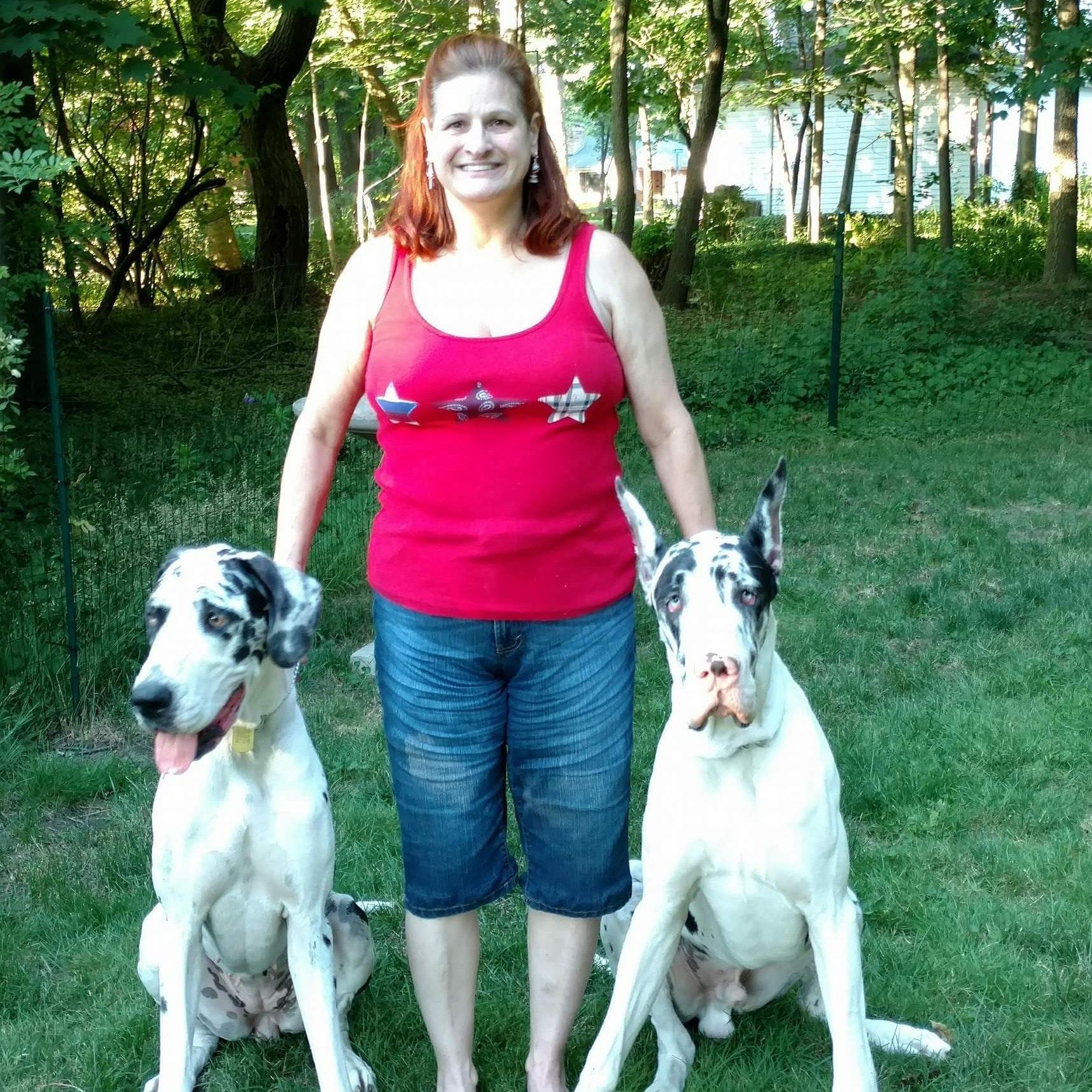 dog walker Cathy