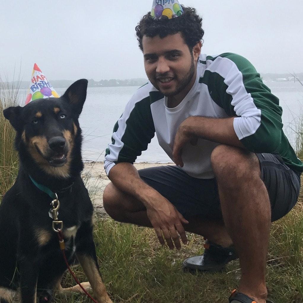 dog walker Otto