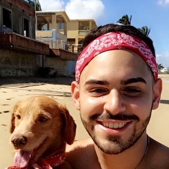dog walker Manuel