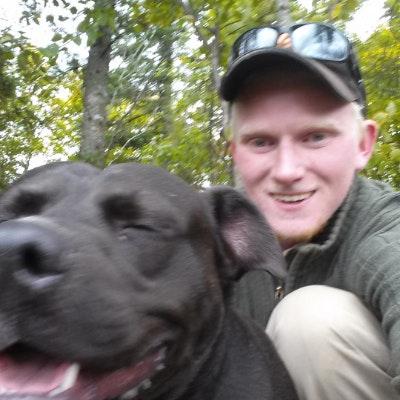 dog walker Samuel