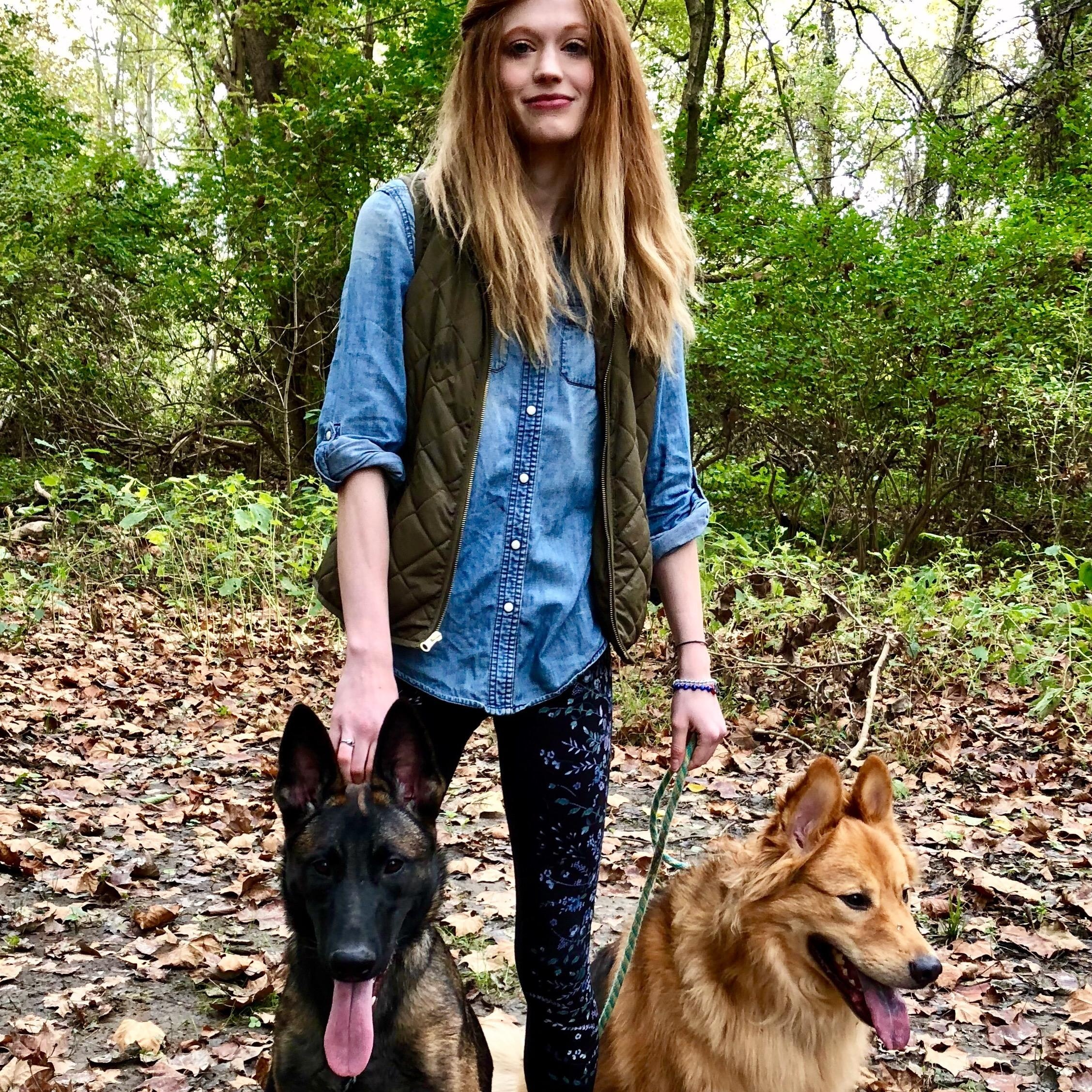 dog walker Emma