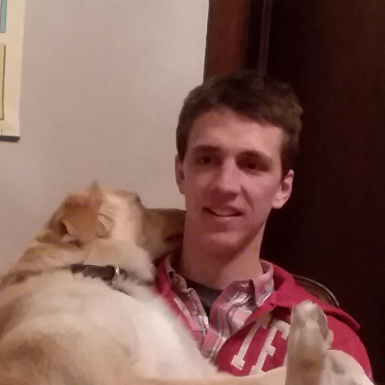 dog walker Max