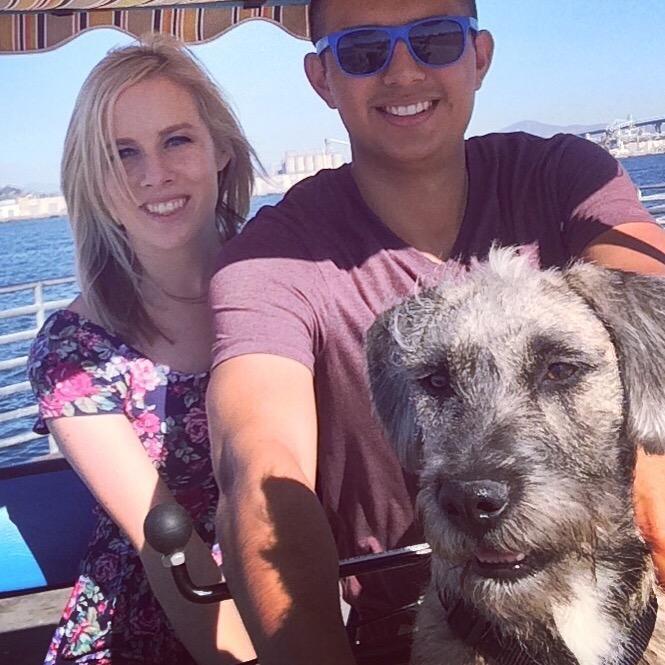 Nicole & Eric's dog boarding