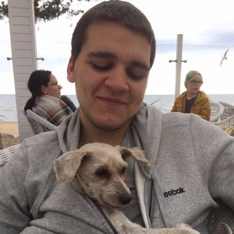 dog walker Kirill