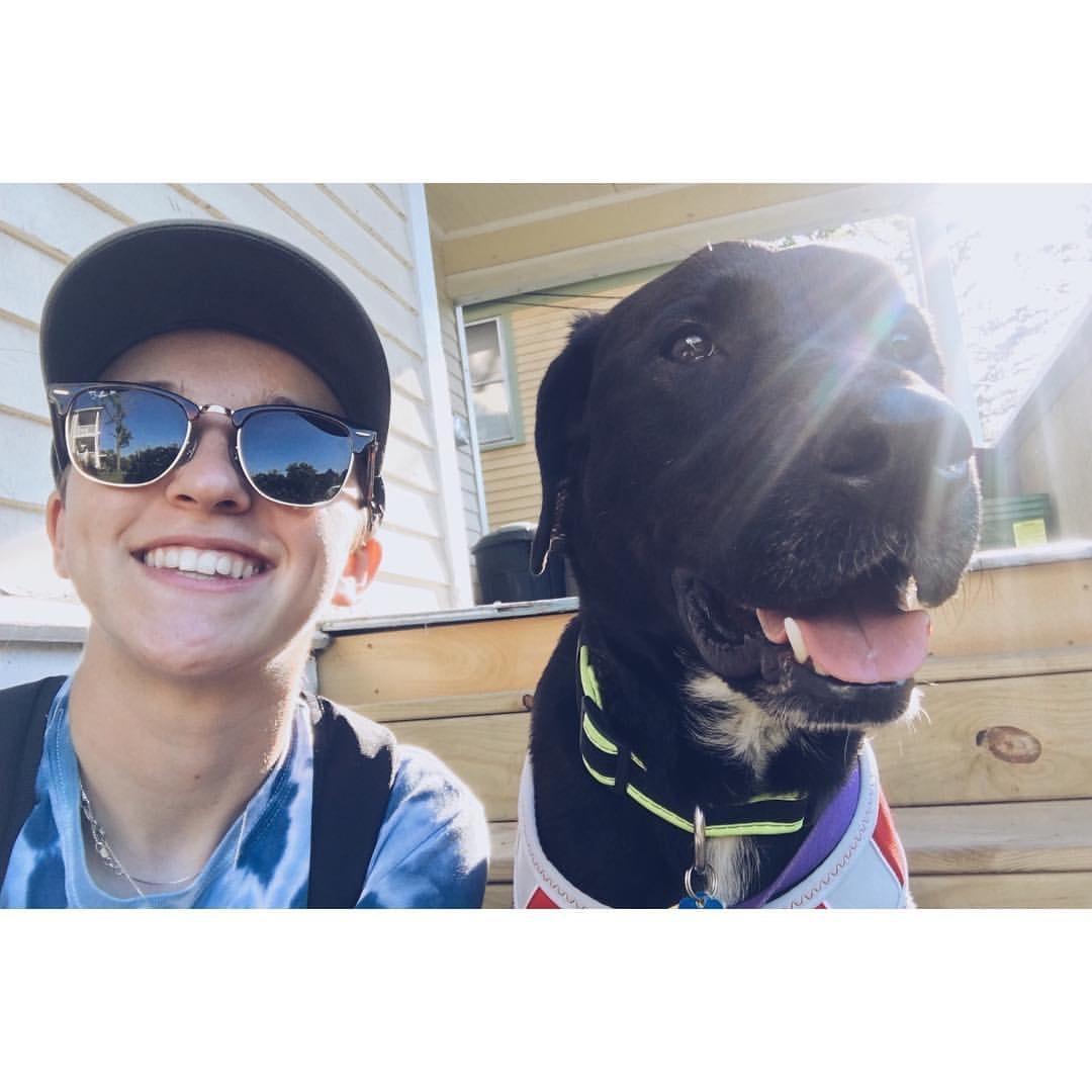 dog walker Jay