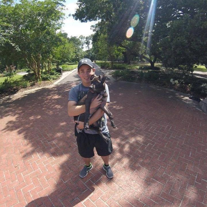 dog walker Alejandro