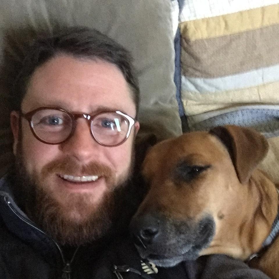 dog walker Christopher