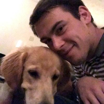 dog walker Adam