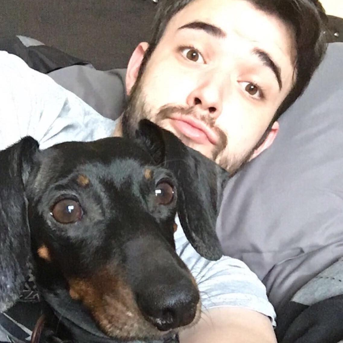 dog walker Cody