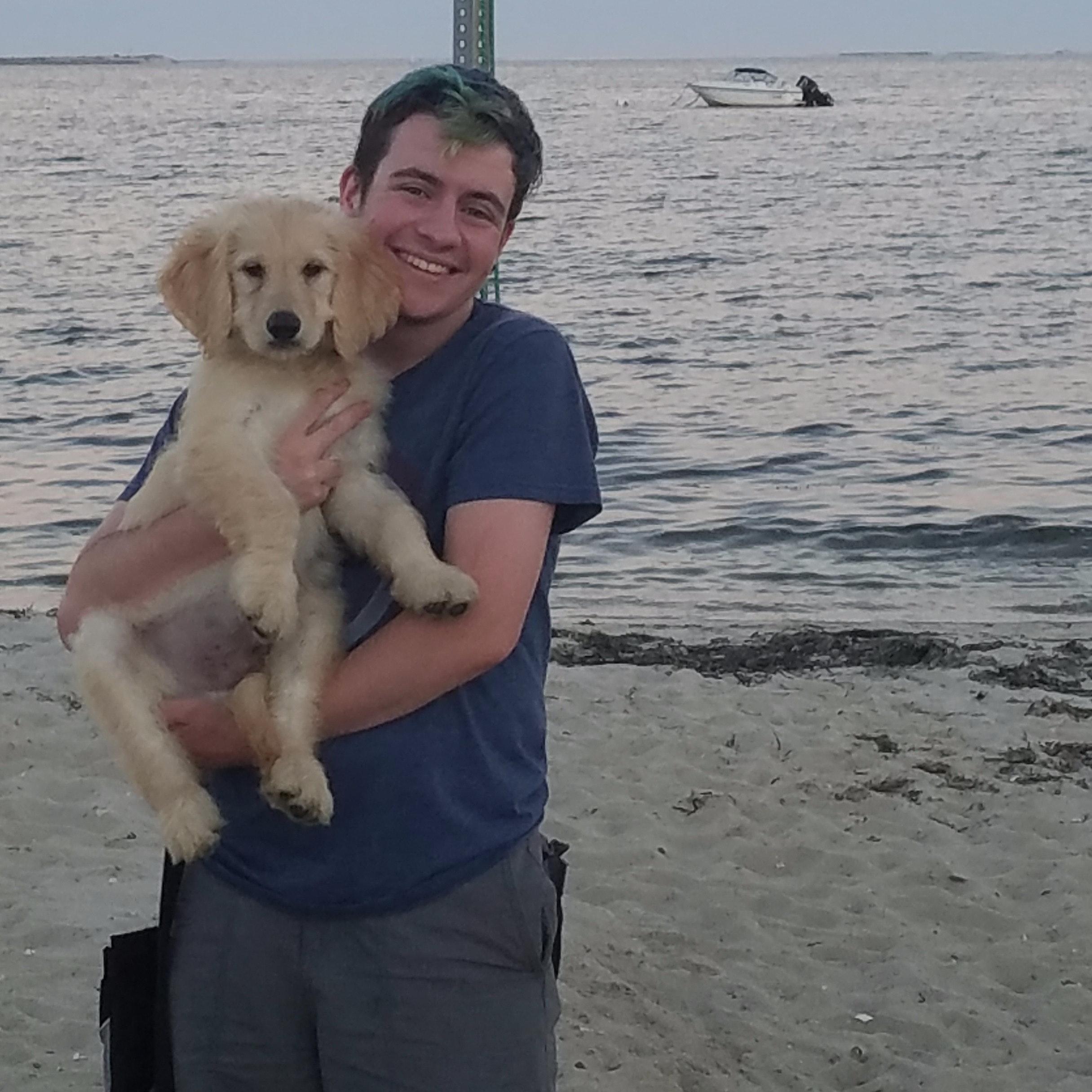 dog walker Elijah