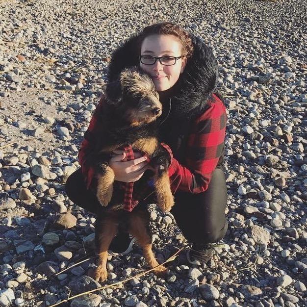 dog walker Sasha