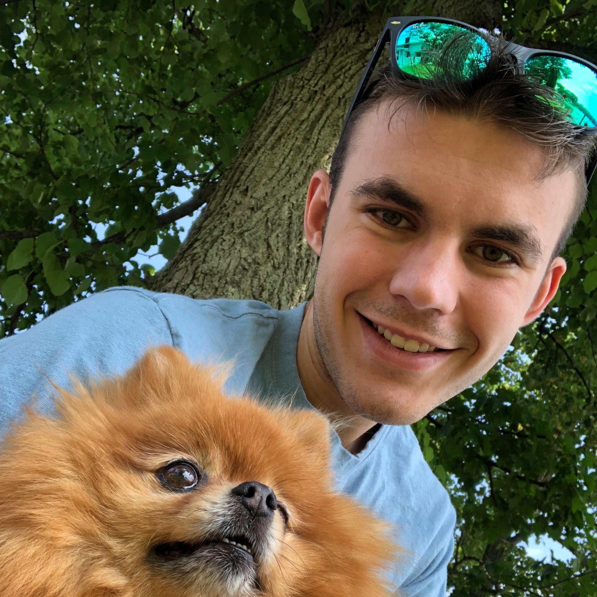 dog walker Kayne