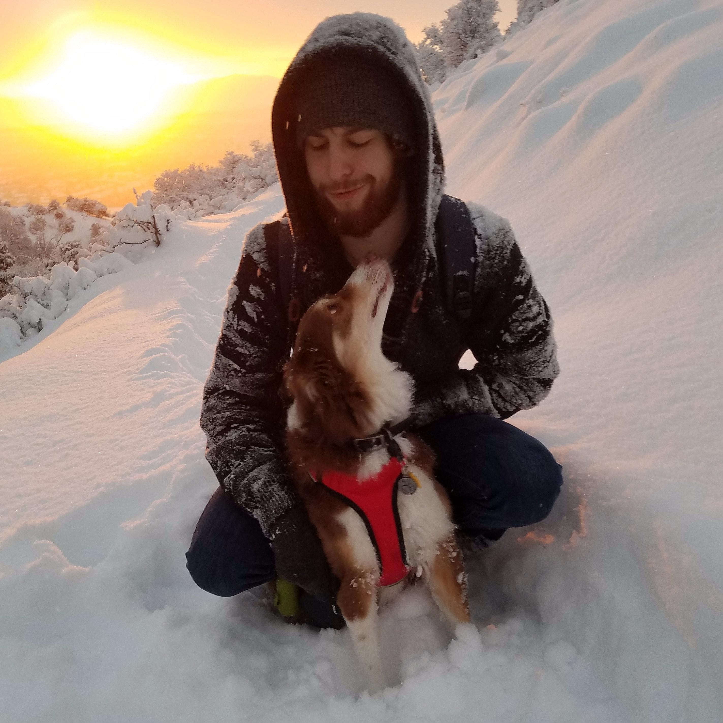 dog walker David