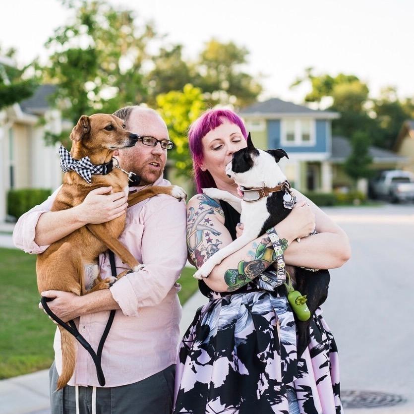 Lori & Michael's dog boarding