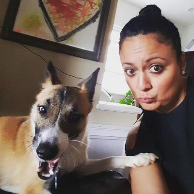 dog walker Ebony