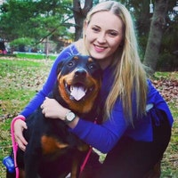 dog walker Laine