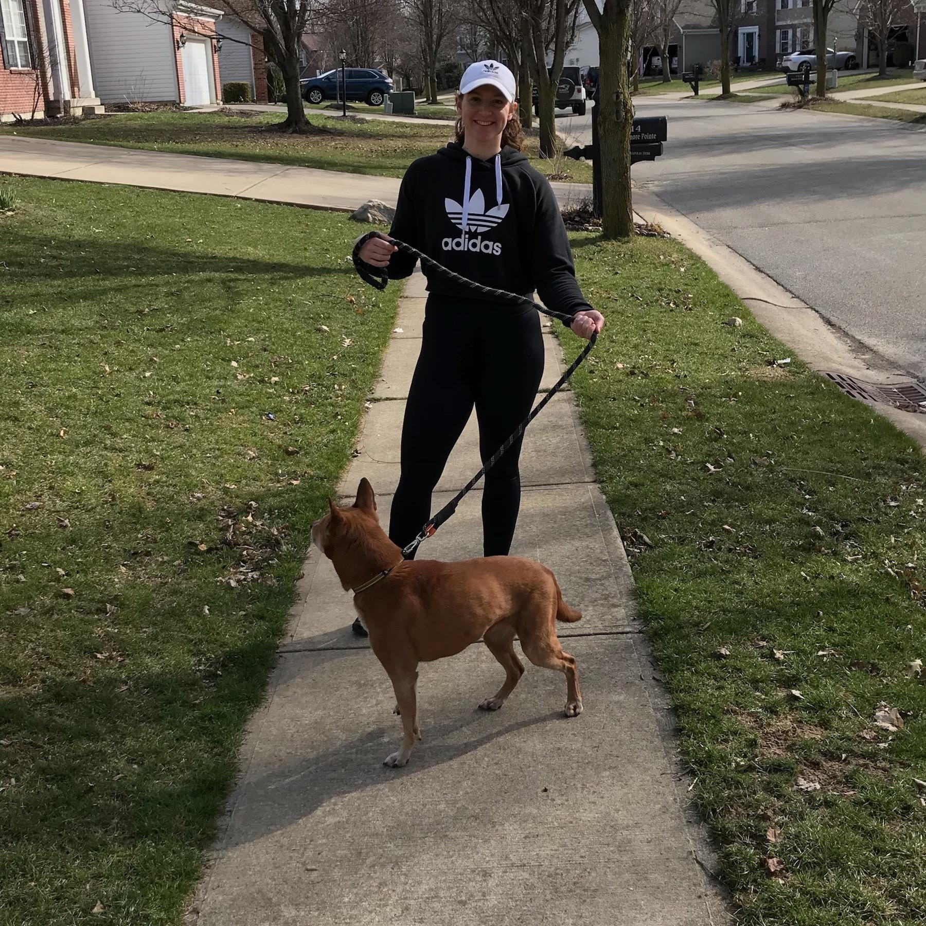 dog walker Alyssa