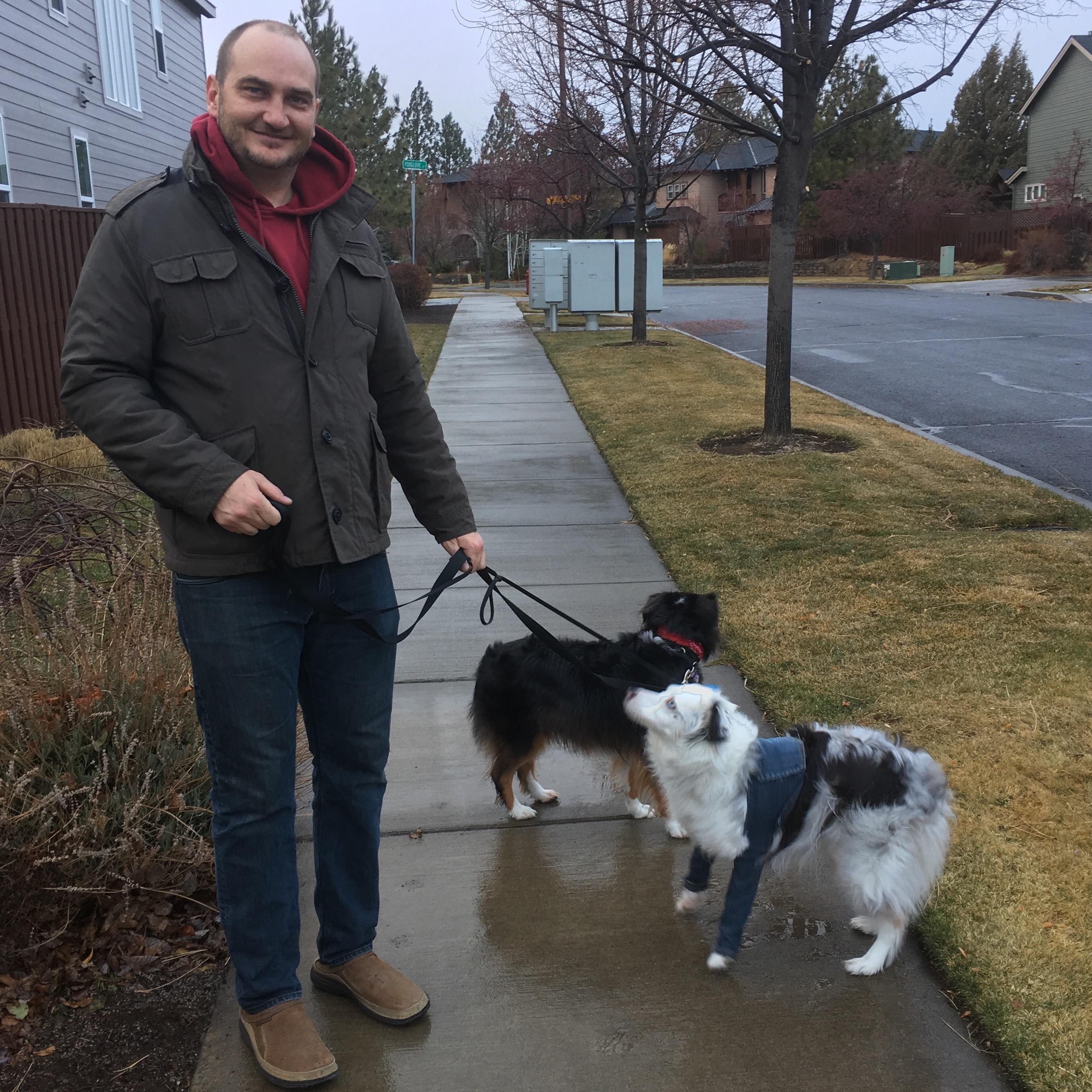 dog walker Tyson