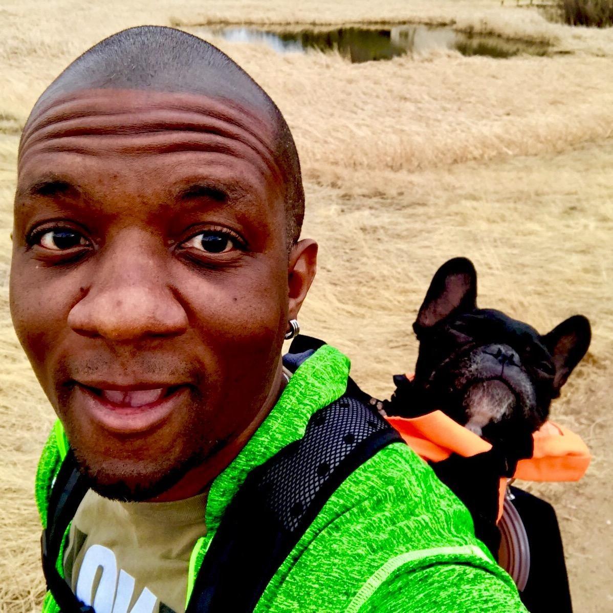 dog walker Darryl