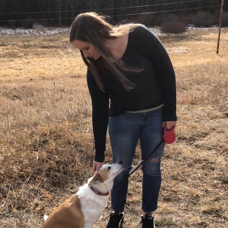 dog walker Shari