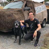 Corey's dog boarding