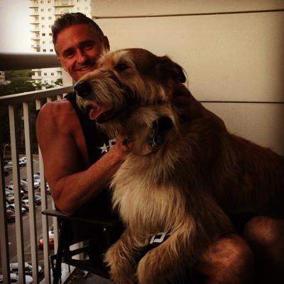 dog walker Clayton