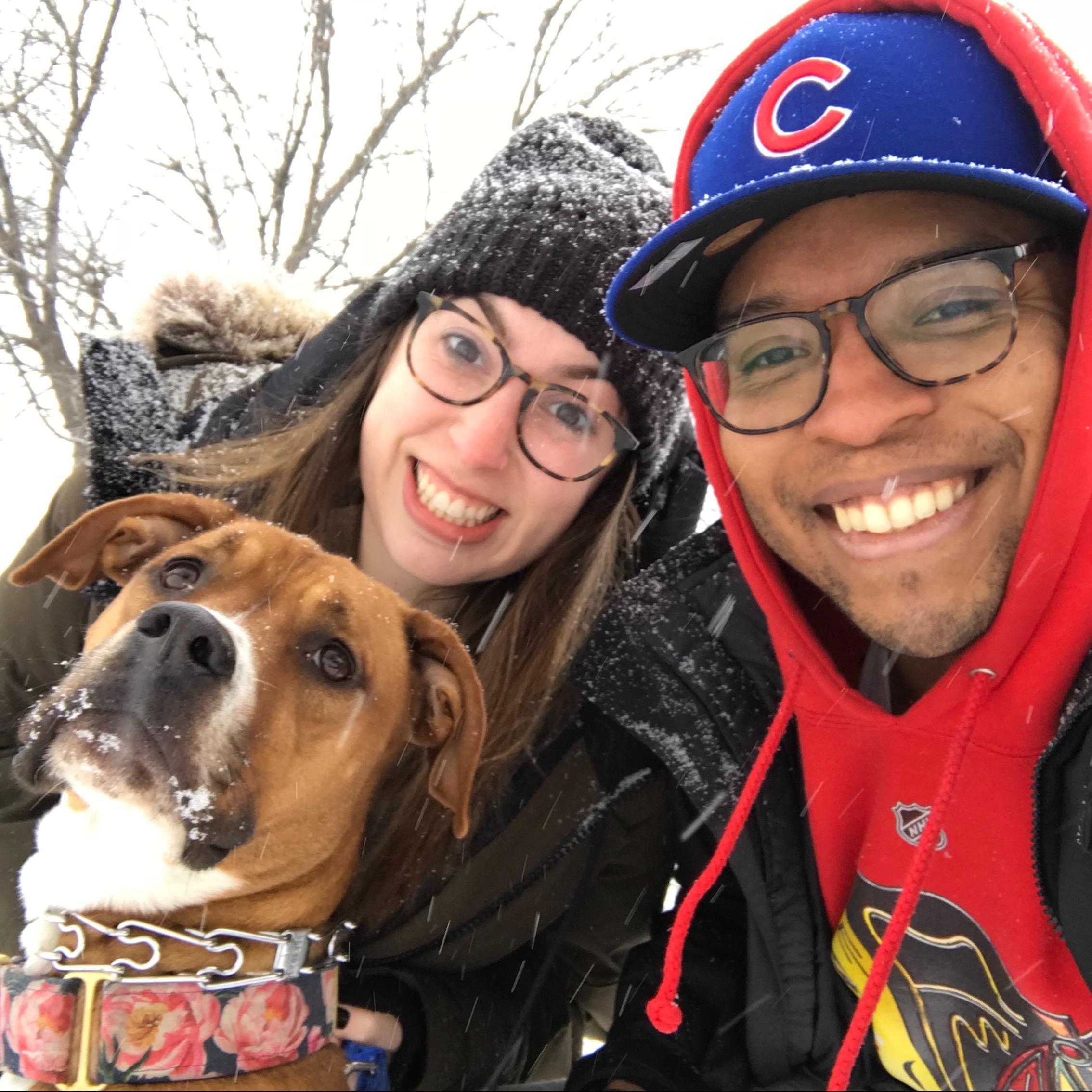 Rachel & Jonathan's dog boarding