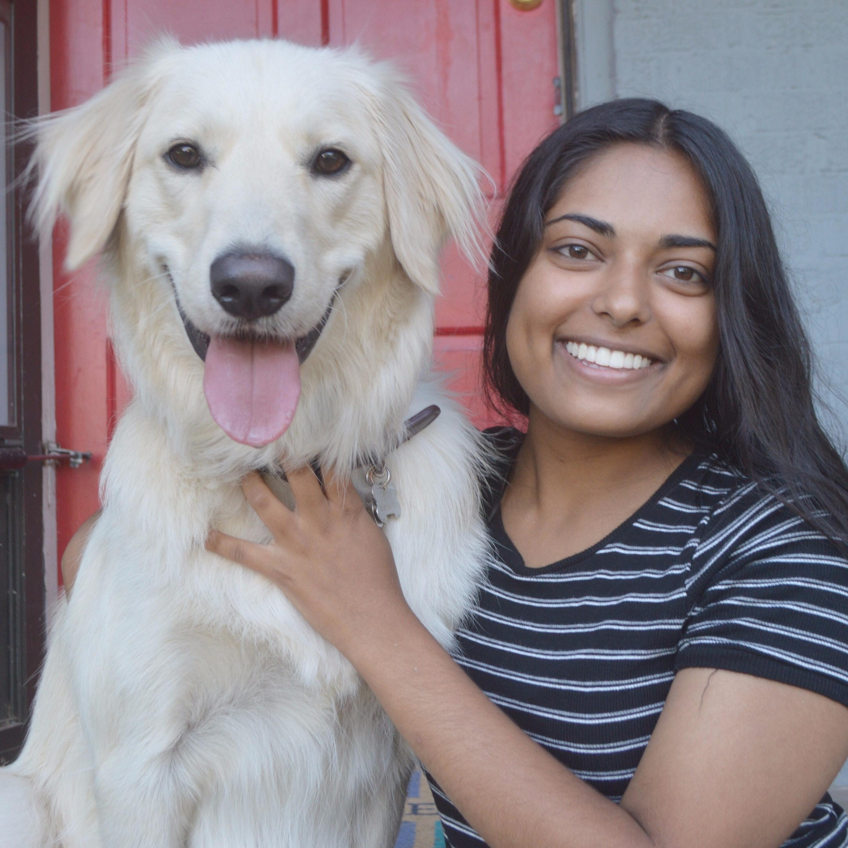 dog walker Maya