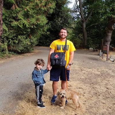 dog walker Brendan