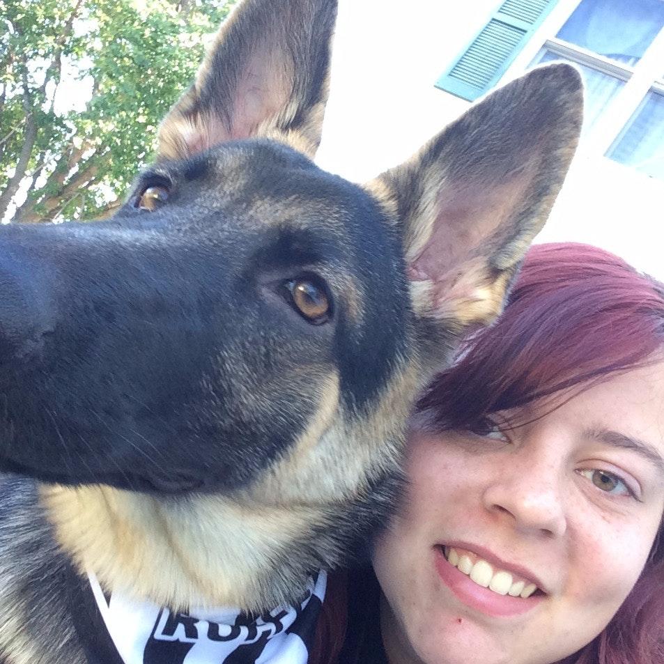 dog walker Baylee