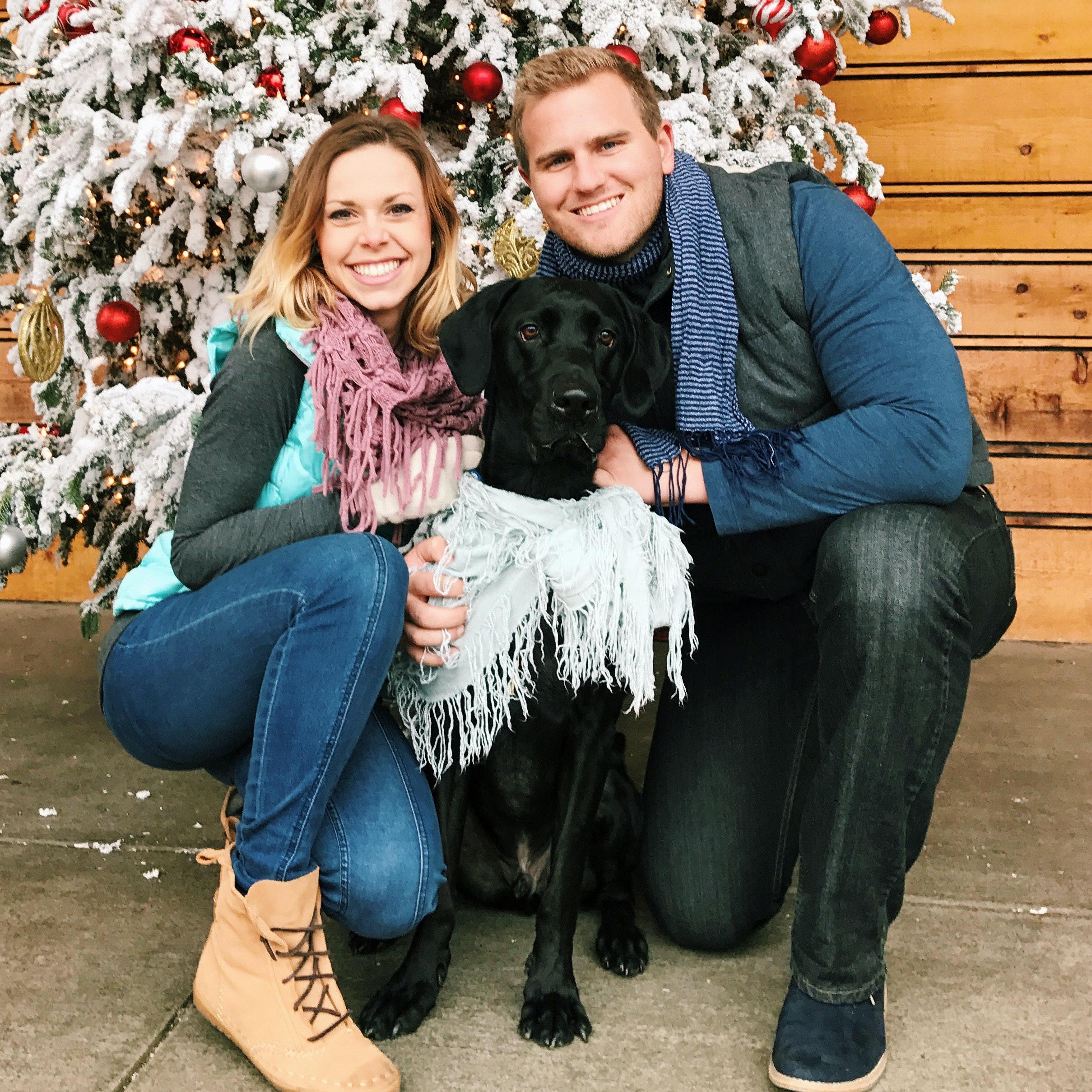 dog walker Josh & Jessica