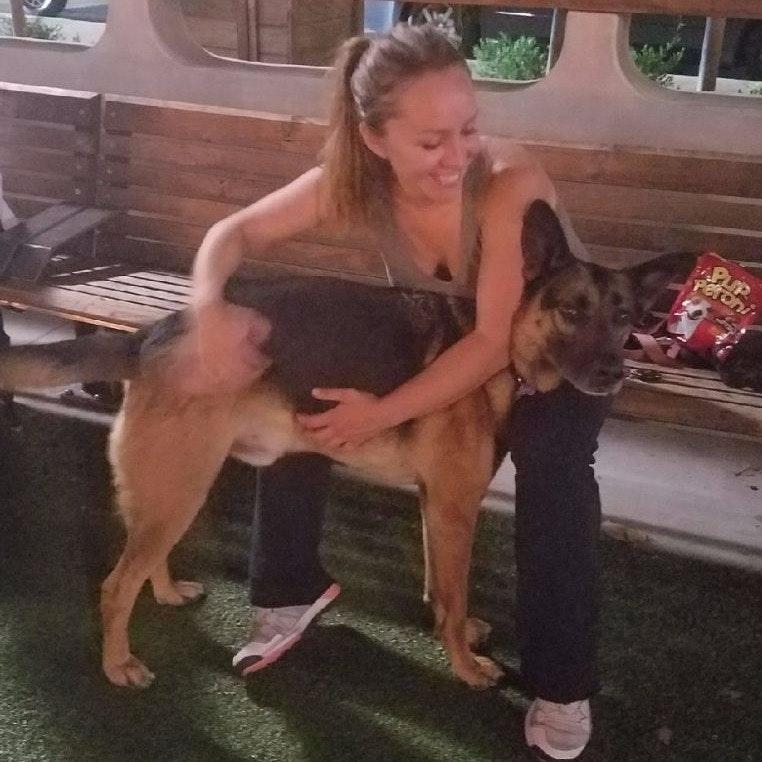dog walker Iryna