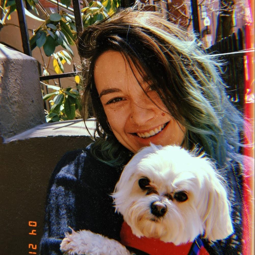 dog walker Stella
