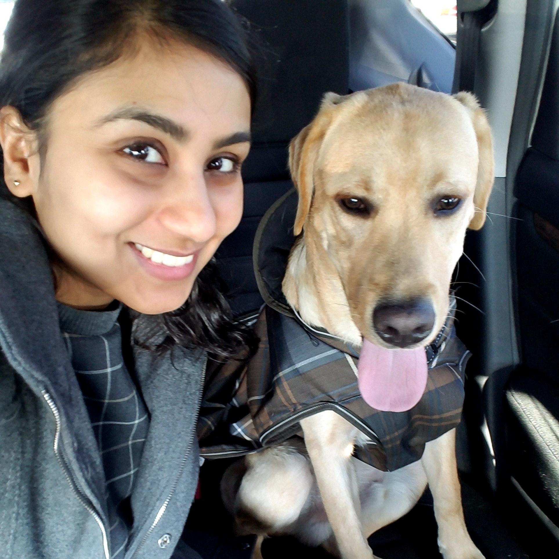 dog walker Shivani