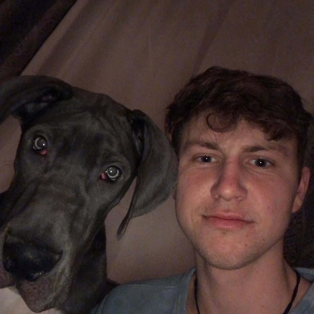 dog walker Brent