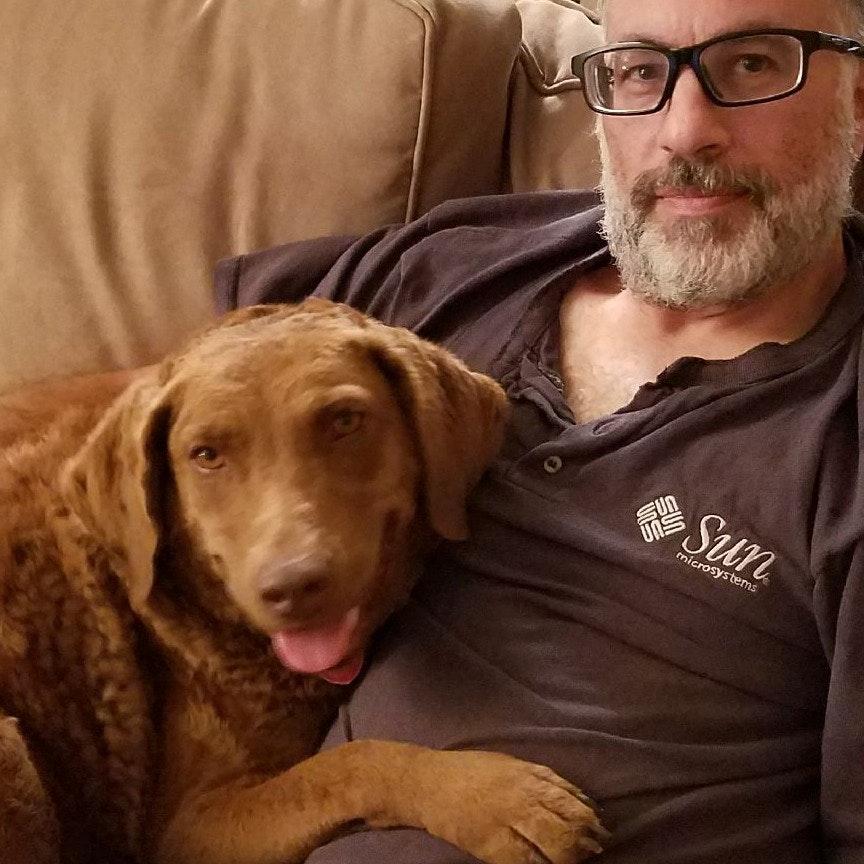 dog walker Derek