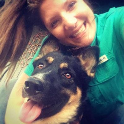 dog walker Kelsey & Jake