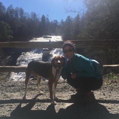 dog walker Carissa
