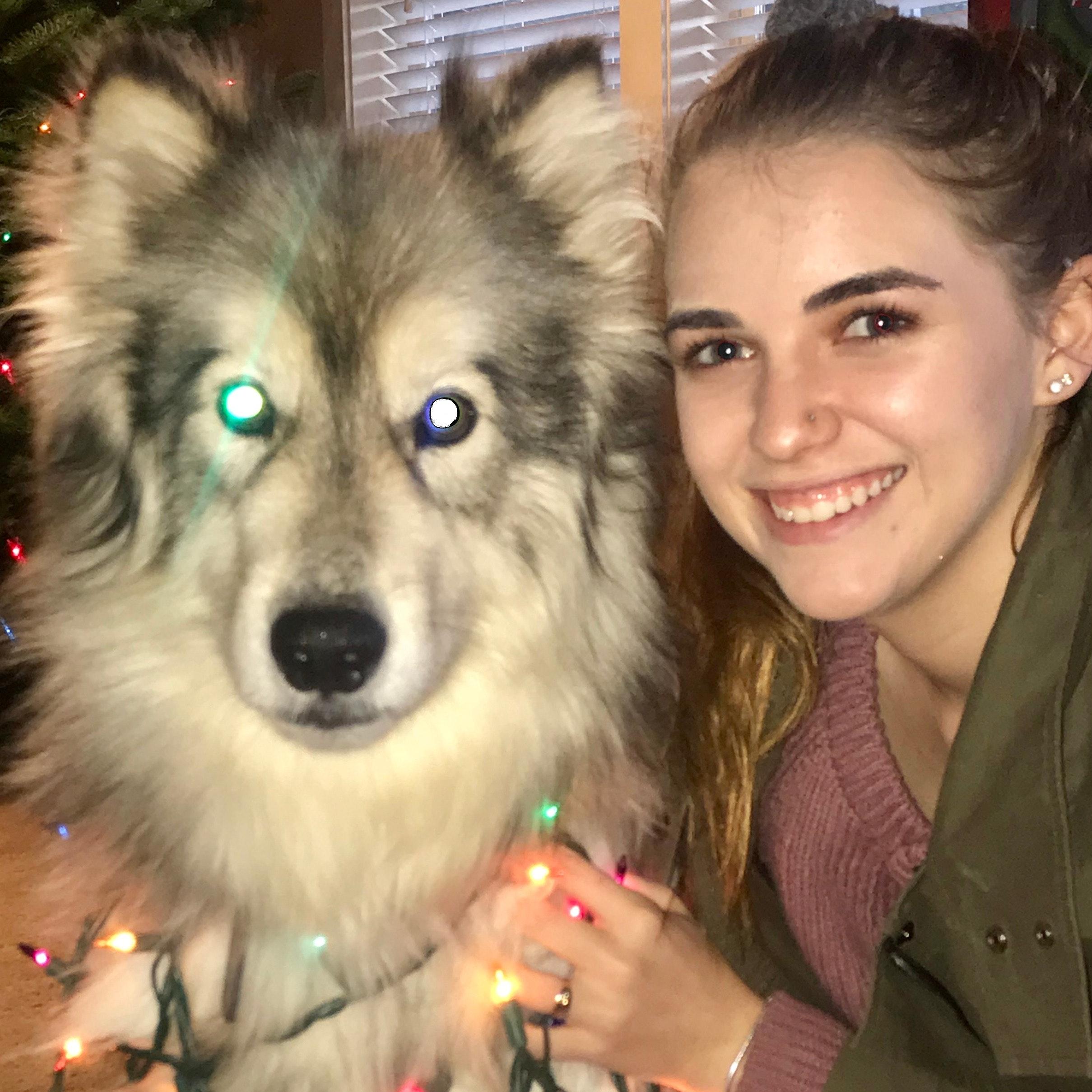 dog walker Maddie