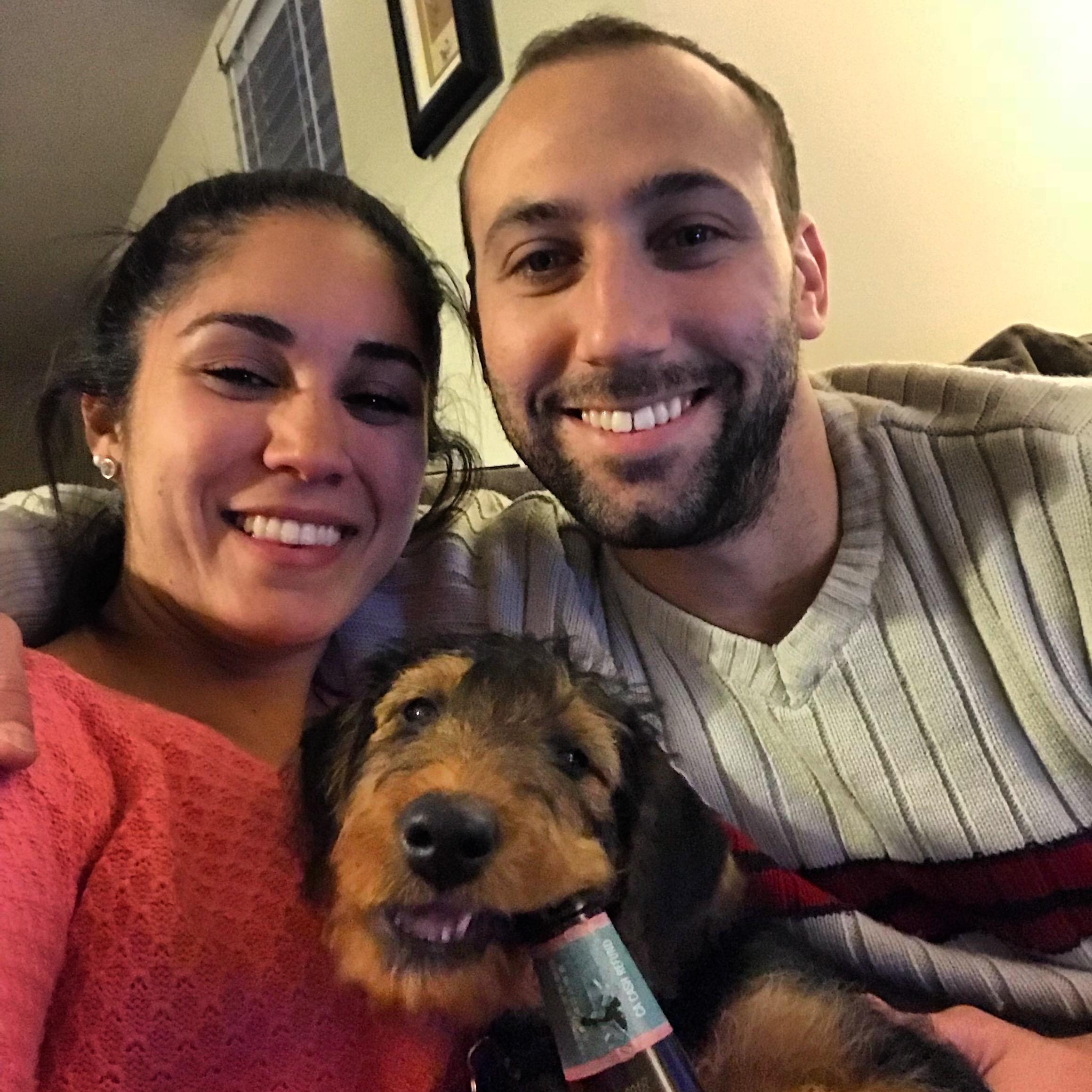Javiera & Tyler's dog boarding