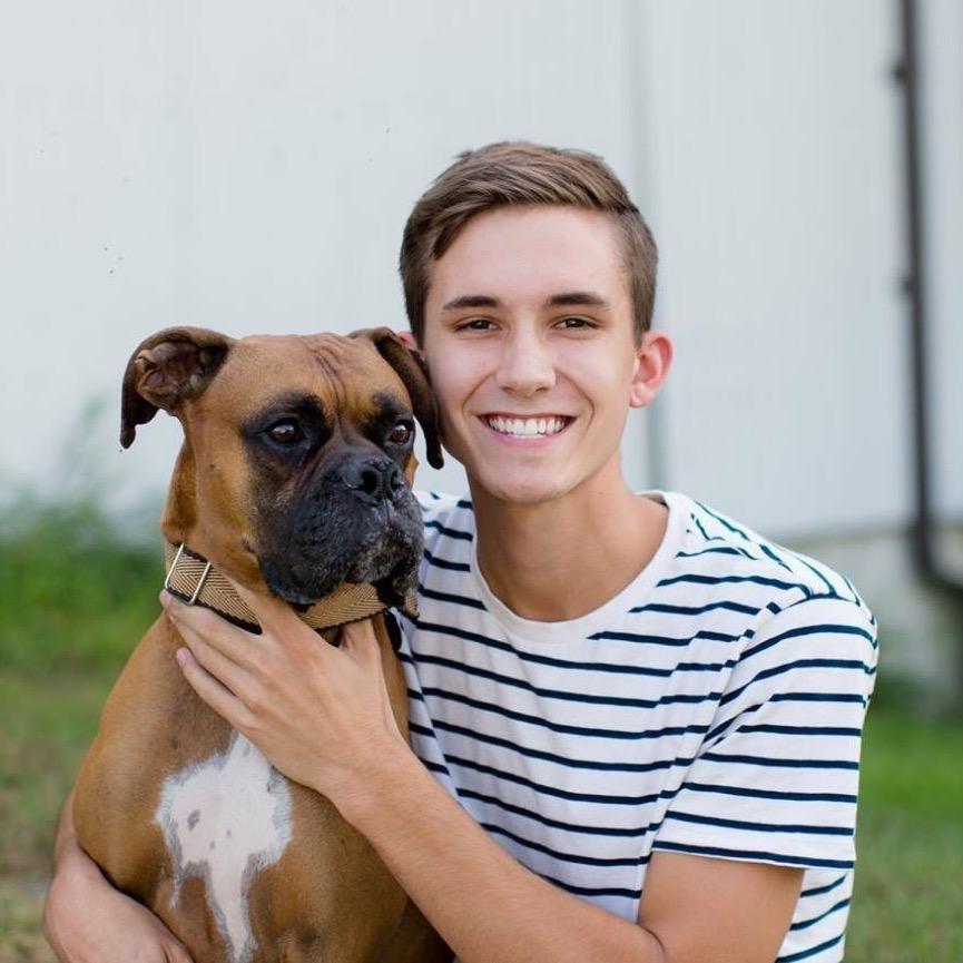 dog walker Ethan