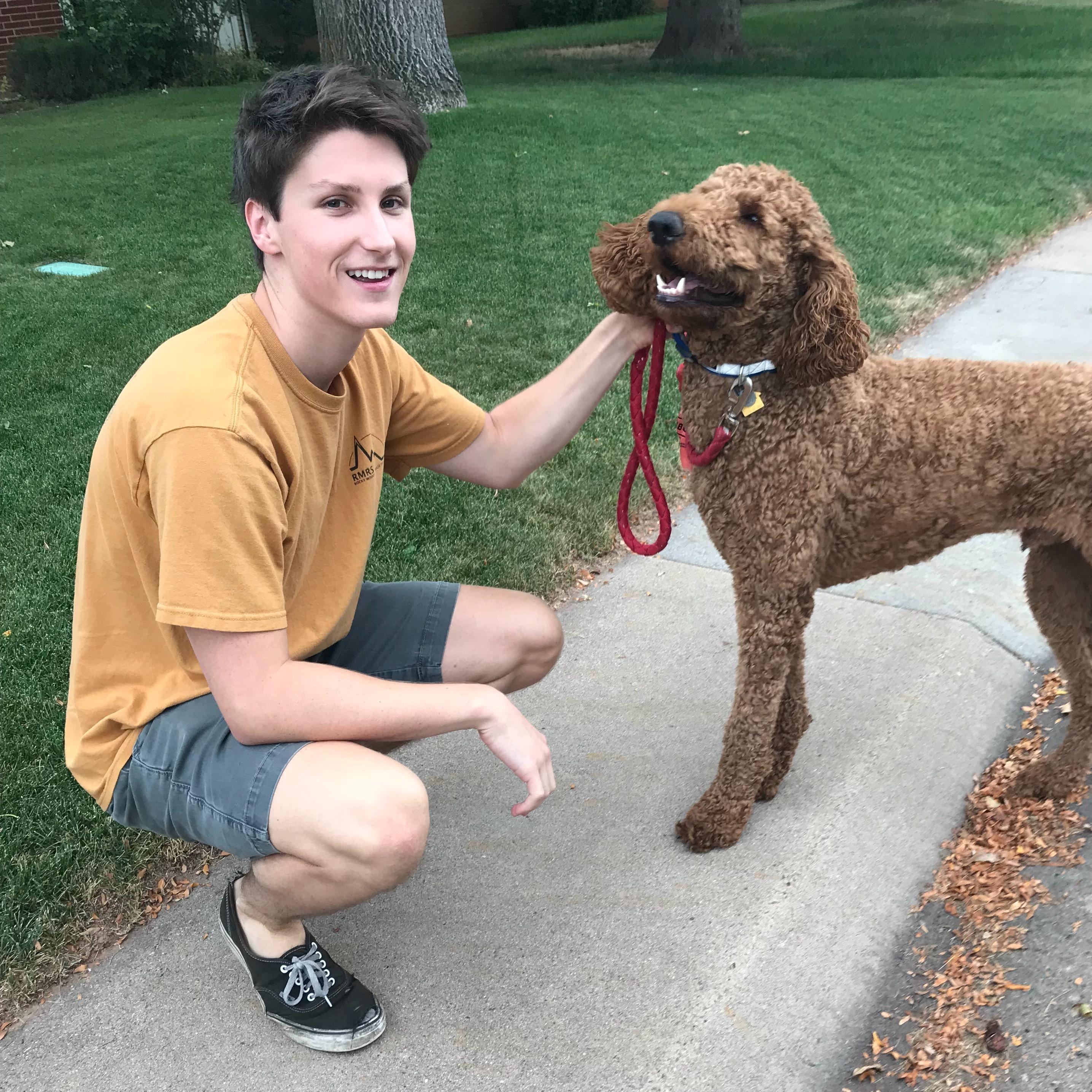 Brendan's dog boarding