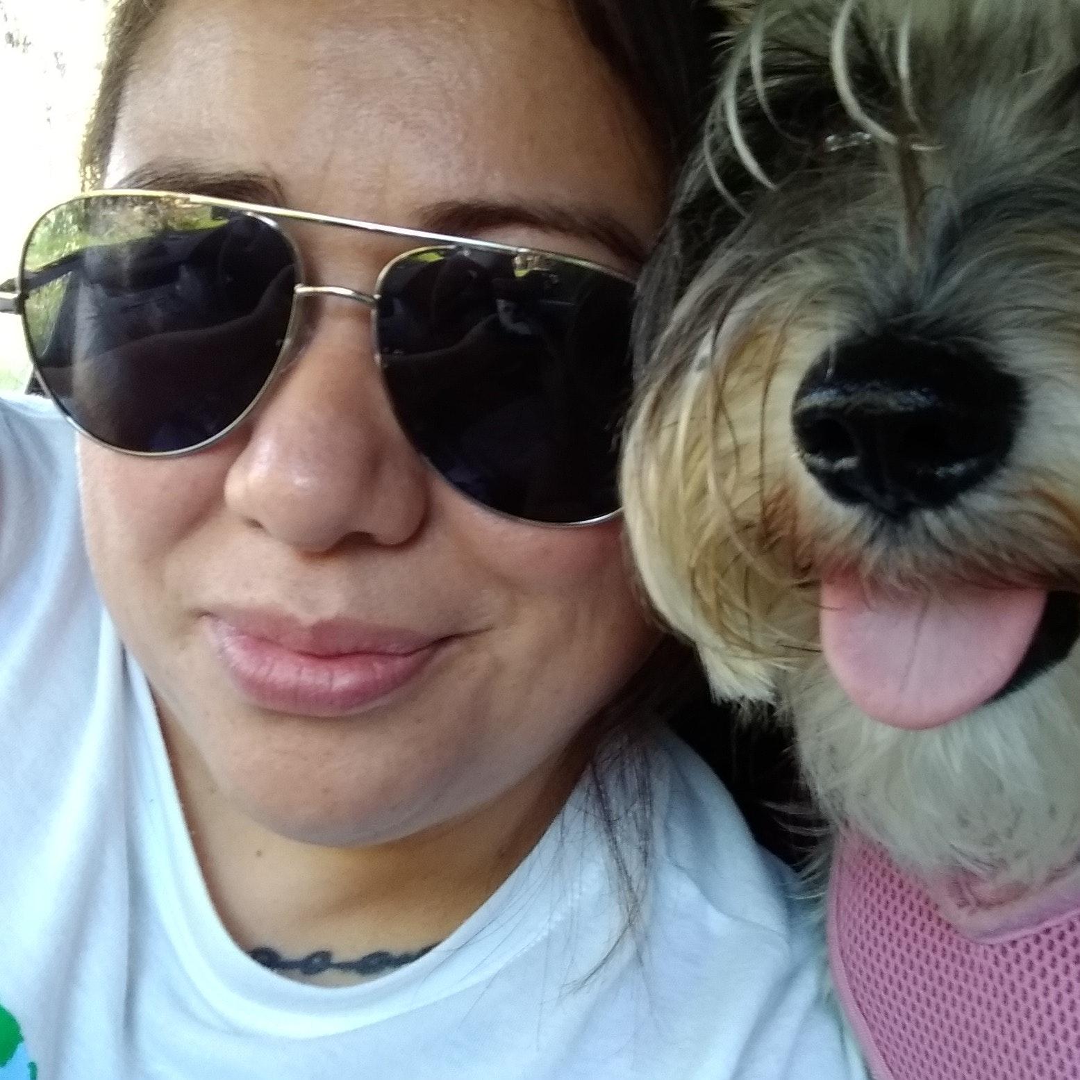 dog walker Yvette