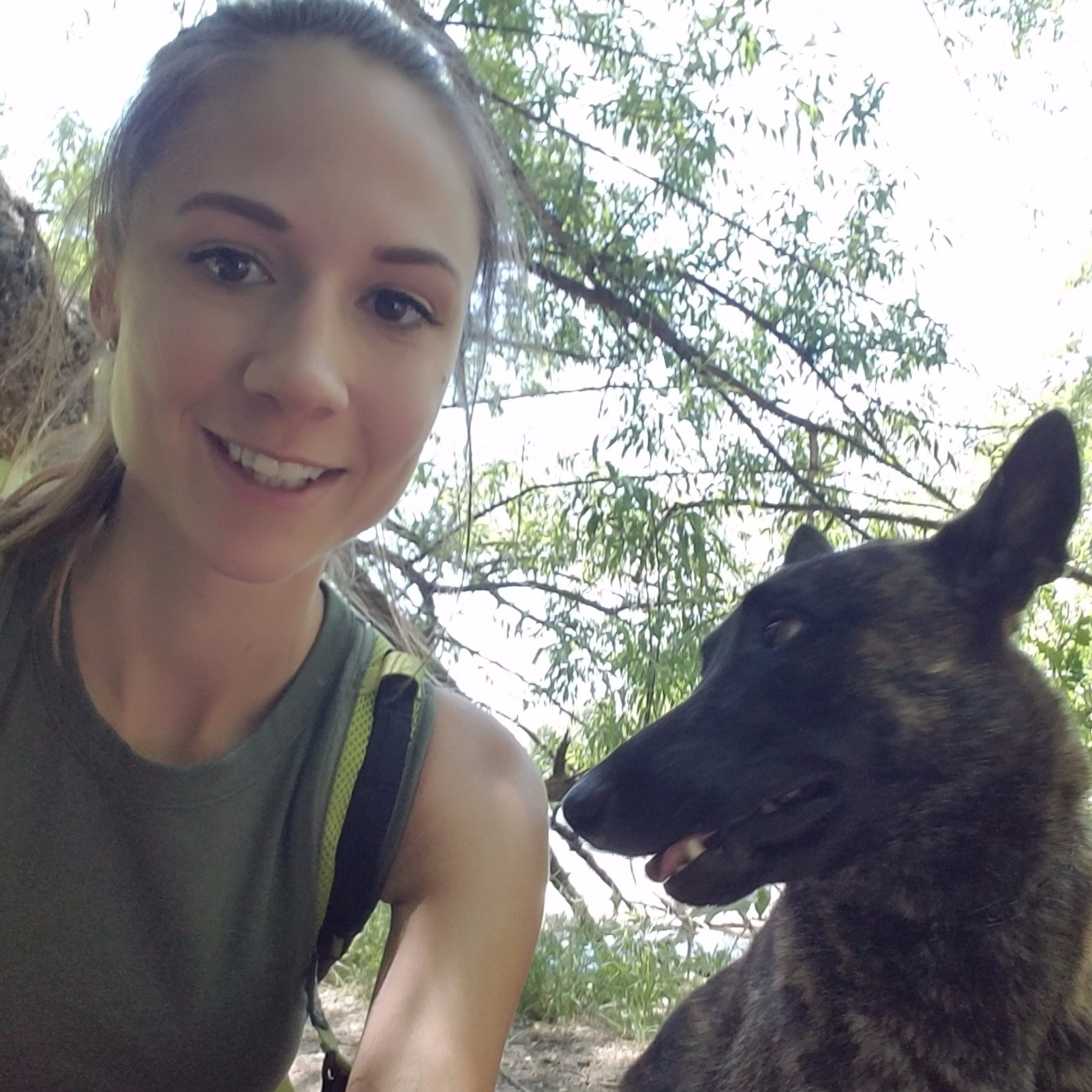 dog walker Caitland