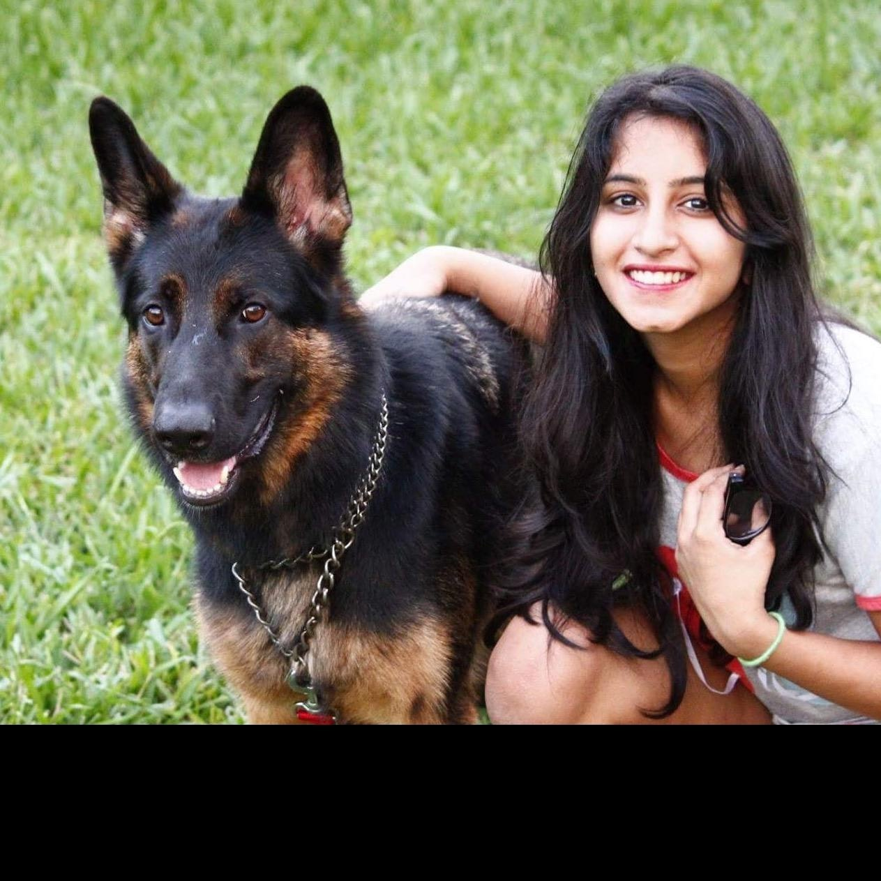 dog walker Anushka