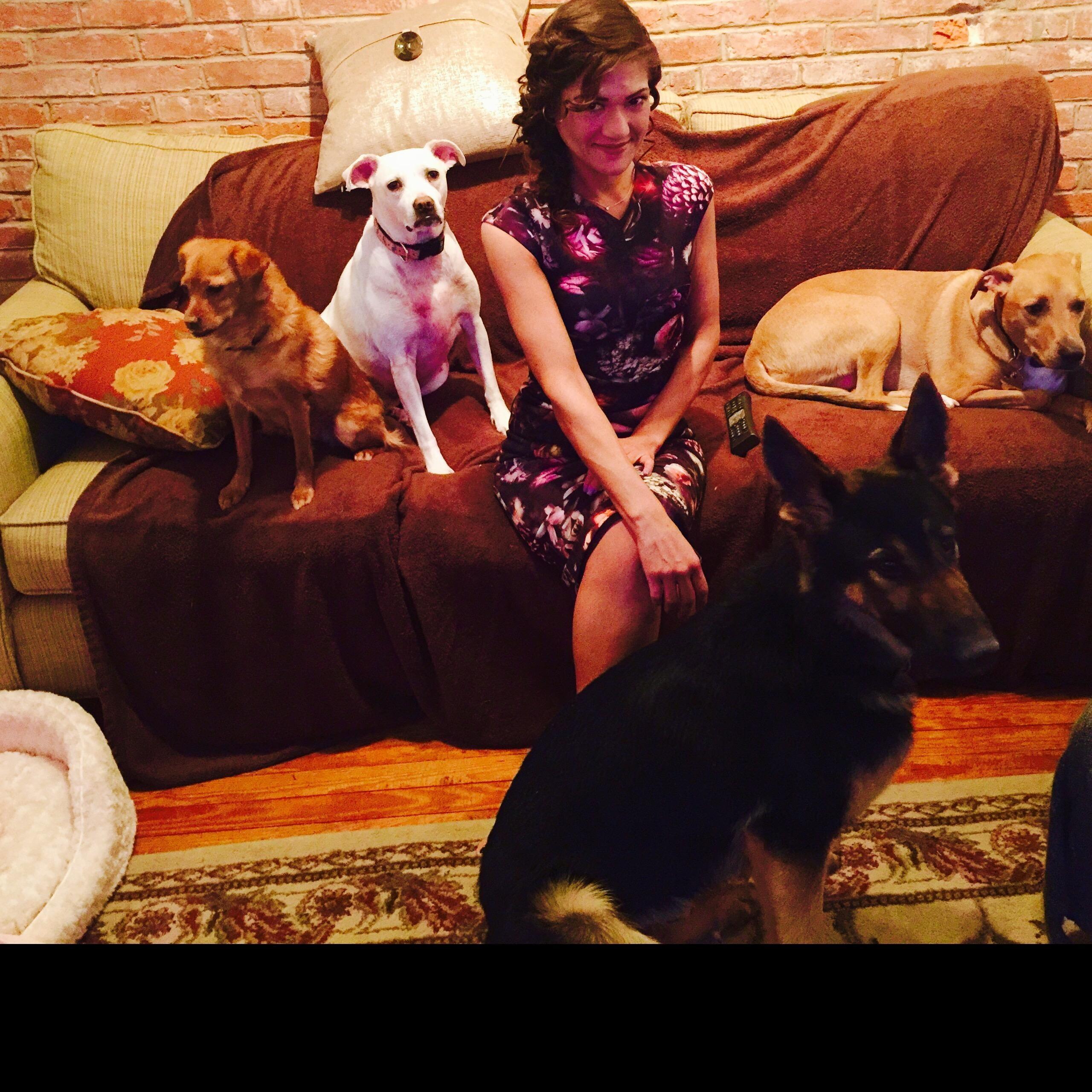 pet sitter Emilie