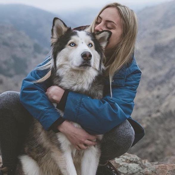 dog walker Krystin