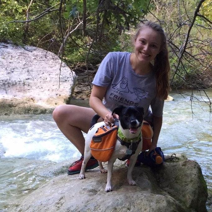 dog walker Dorothy